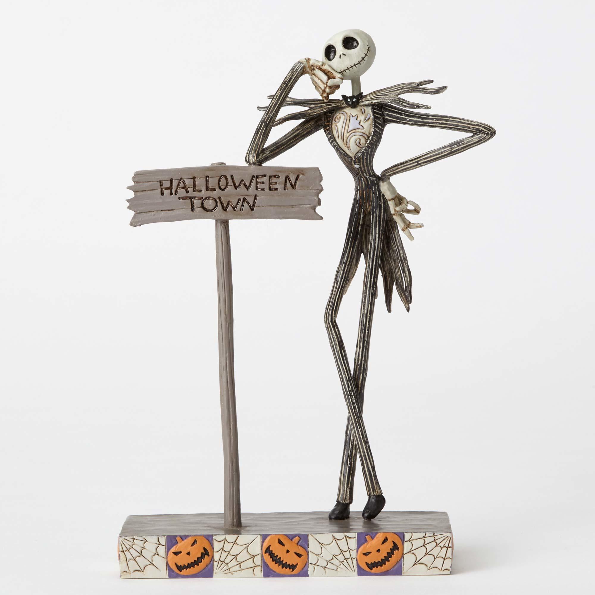 Jim Shore Disney Traditions , Jack Skellington , Welcome to Halloween Town  Figurine