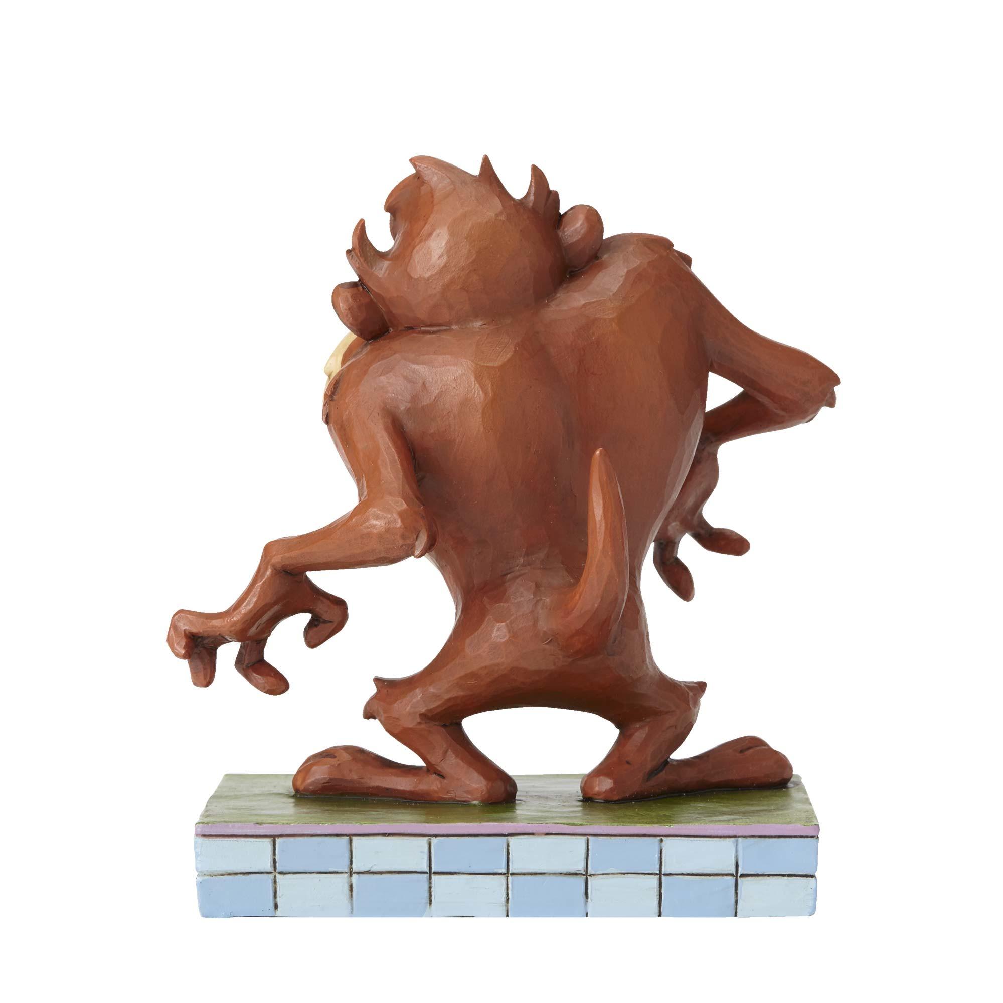 Tasmanian Devil Looney Tunes Figurine by Jim Shore NEW Huh